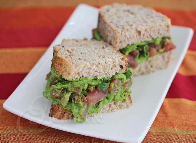 Preventing Alzheimer's Disease - Ahi Tuna Sandwich with Spinach ...