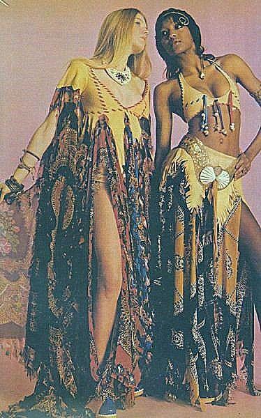 Hippie high fashion 1960s