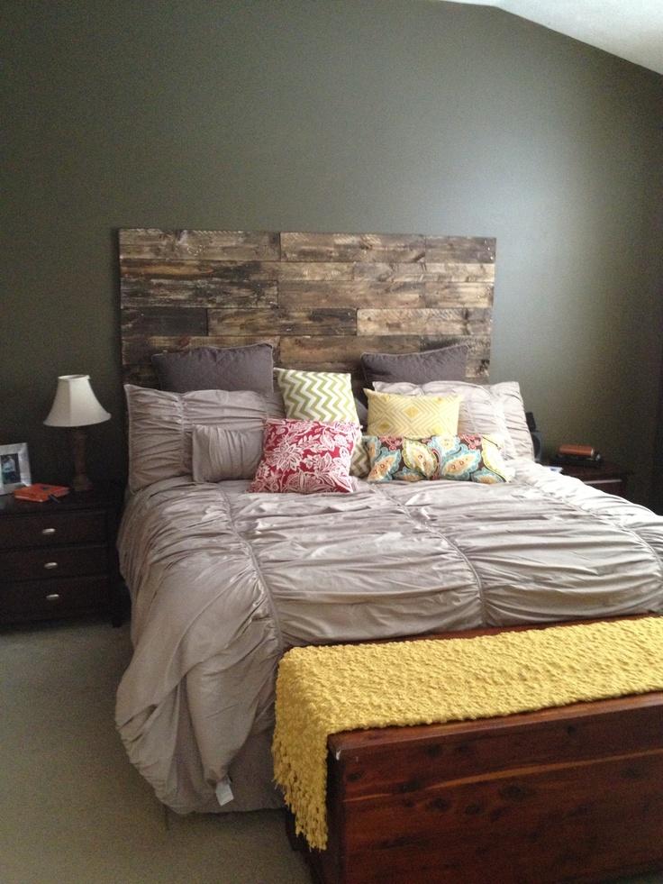 pallet headboard kid s bedroom ideas