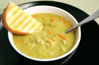 Split Pea Soup with Ham — Punchfork | food & drink | Pinterest
