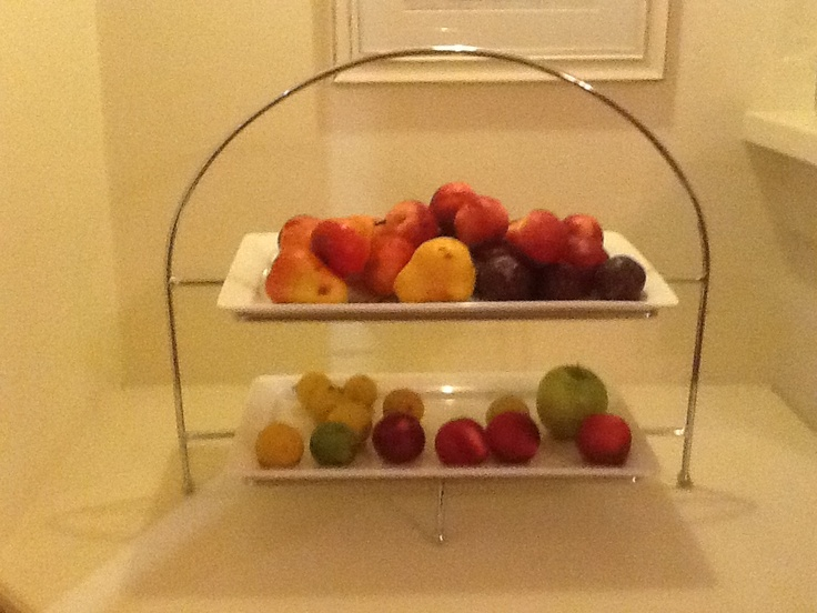 Pin by liz samy on kitchen ideas pinterest - Tiered fruit bowl ...