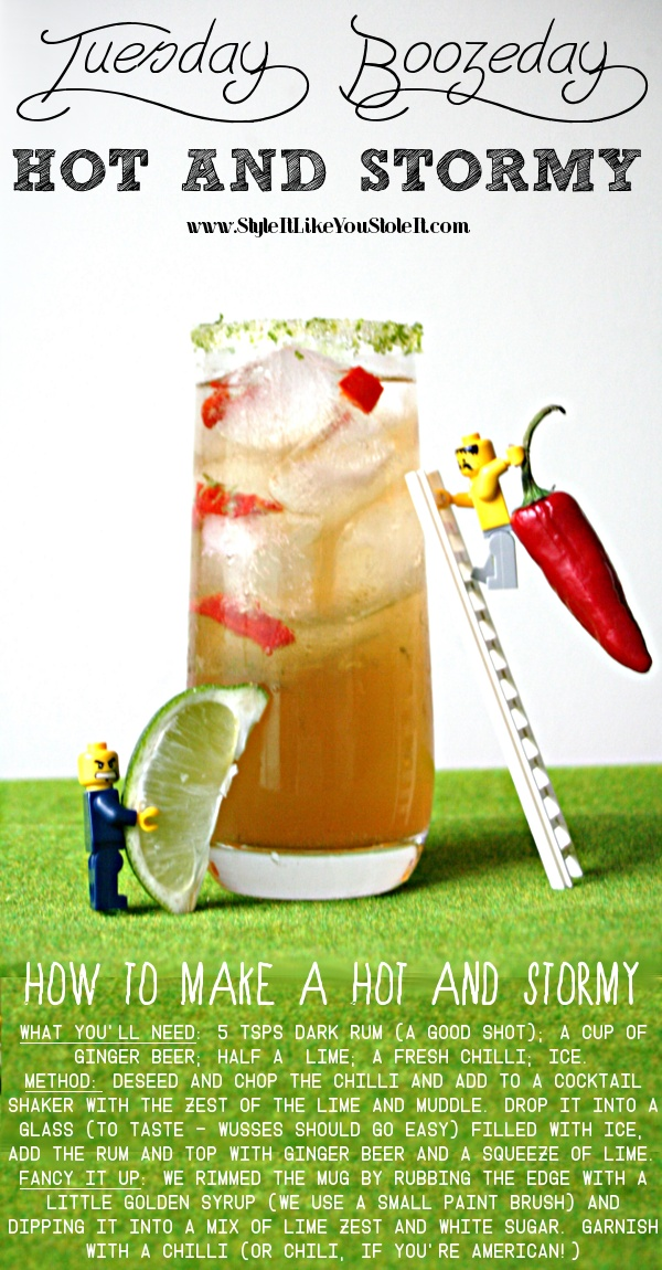 ... own Hot and Stormy, a variation of the classic Dark and Stormy