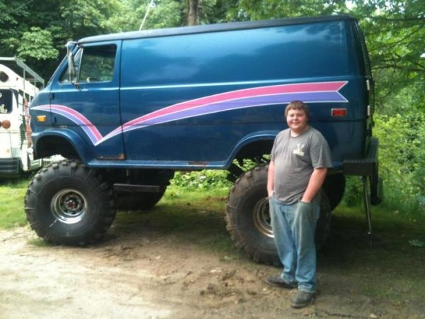 Trade or sale 4x4 Ford Van | Vans | Pinterest