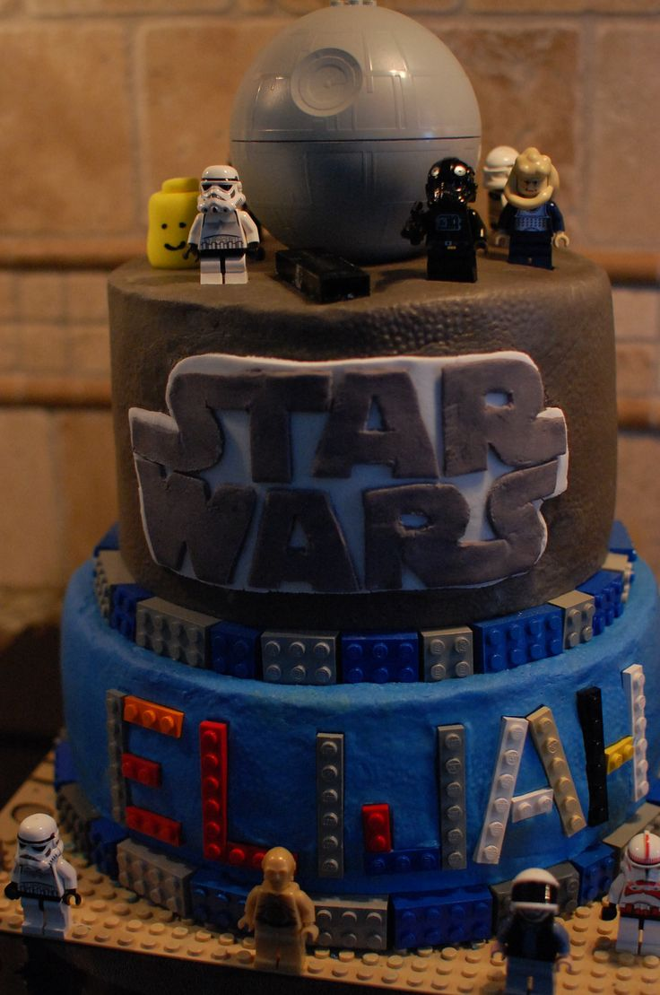 lego star wars cakes the image kid has it. Black Bedroom Furniture Sets. Home Design Ideas