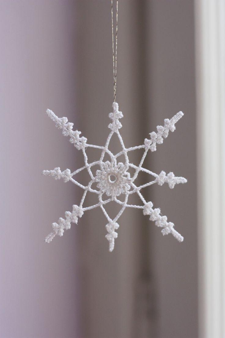 Crochet Snowflake : Crochet snowflake. Crochet-Snowflakes Pinterest