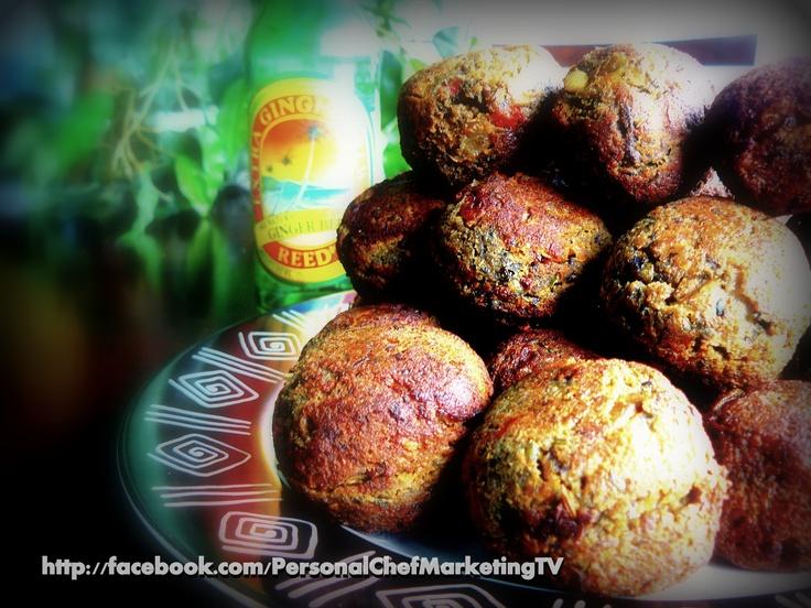 Homemade Mushroom, Garlic & Peppers Stuffed Akkras [black eyed pea ...