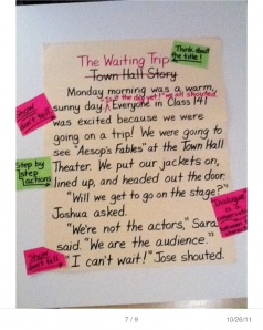 chartchums share strategies for charting with readers and writers