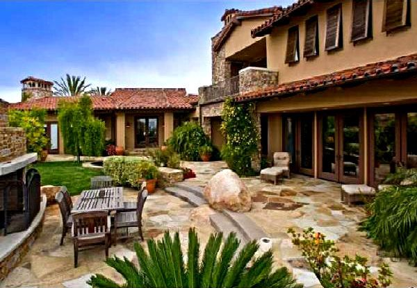 Santa Fe Style Dream Home Pinterest