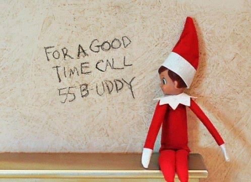 Naughty Elf   Elf on the Shelf...Gone BAD   Pinterest