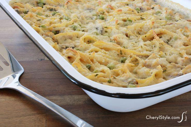 Easy chicken tetrazzini casserole the whole family will love