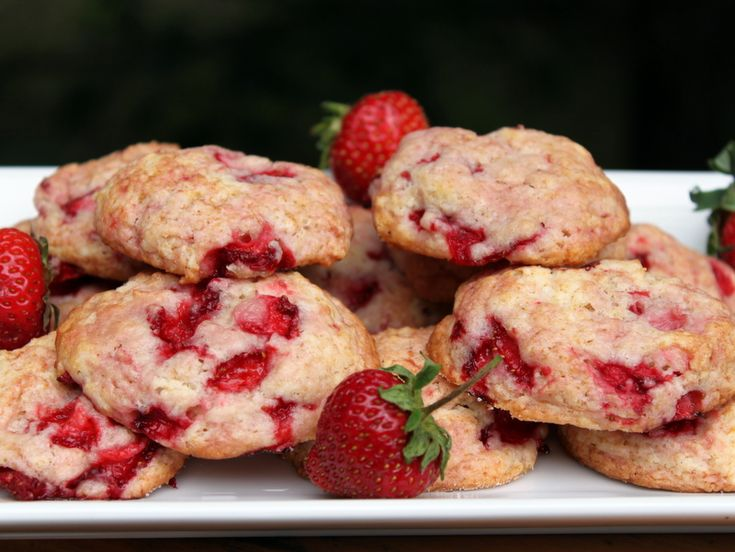 Strawberry Shortcake Cookies | Food and Beverage | Pinterest