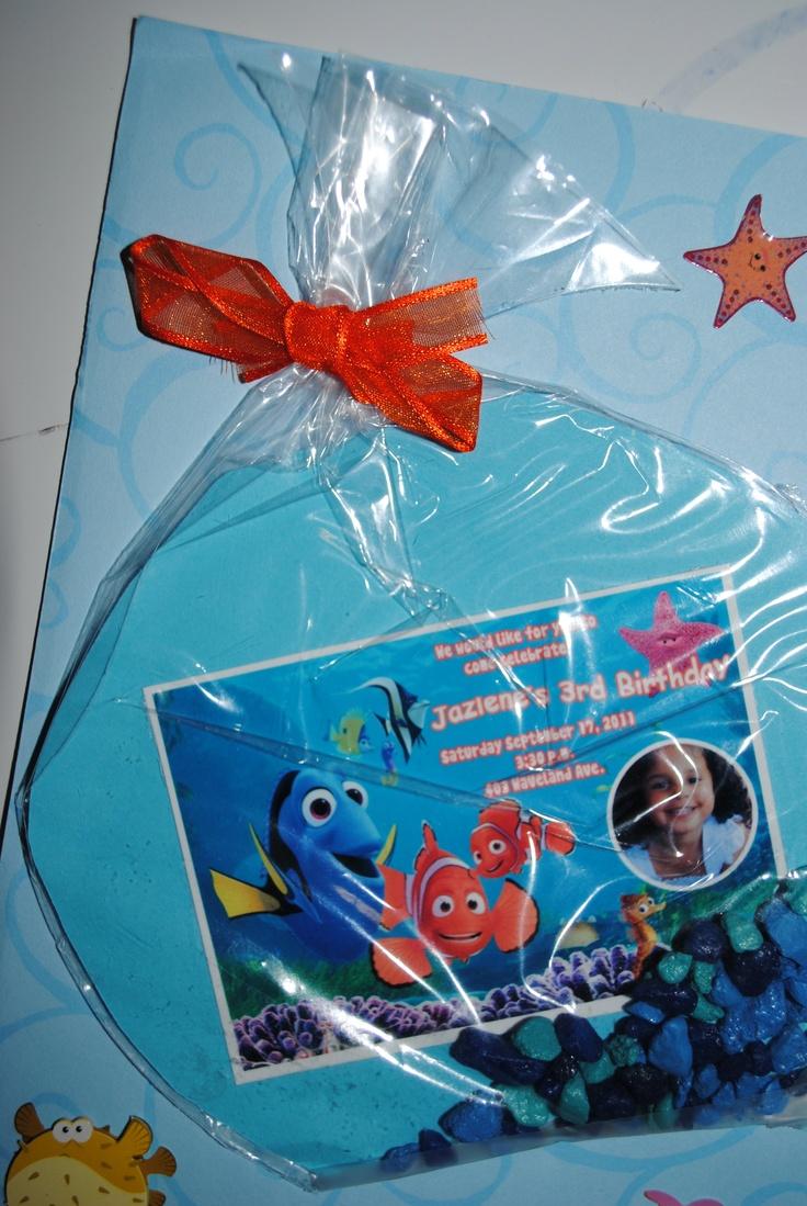 Finding Nemo Invitation Ideas is nice invitation sample