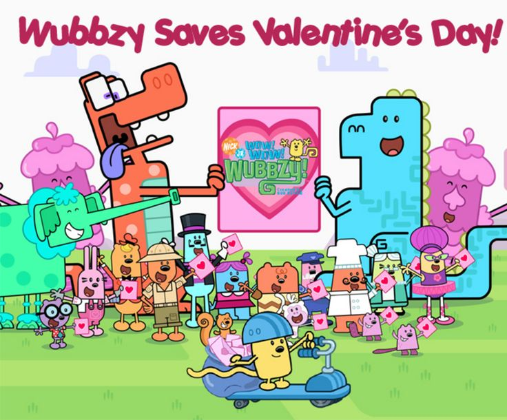 valentines day cards nick jr