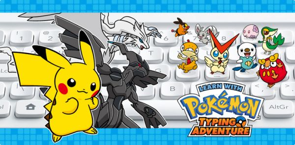 Just the idea of a pokemon themed educational typing game seems