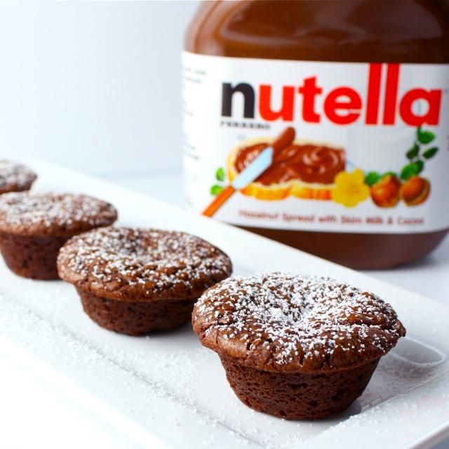 Nutella Fudge Brownies | food in my belly | Pinterest