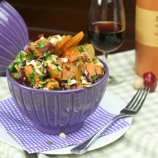 Oven Roasted Sweet Potato & Beet Salad (Robyn, I thought Juan might be ...