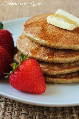 Gluten-Free Quinoa Flake (or Oatmeal) Pancakes