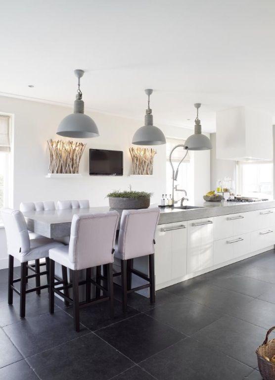 Mooie Keuken Tegels : Keuken met mooie kleurstelling incl tegels