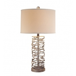 Minka-Lavery - 10638-0 - Hearst Castle Collection Table Lamp $143.91 Lamps.com #Inhabitatlamps