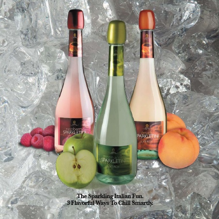... Sparkling Italian Wine comes in Peach, Raspberry and Green Apple (118