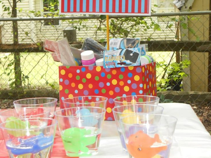 Fish Bowl Game For Carnival Themed Party My Chic Party