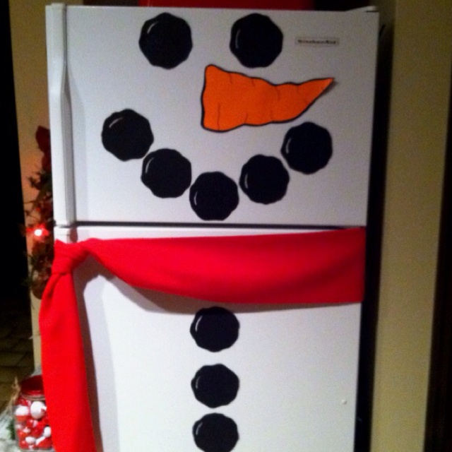 Our refrigerator is Frosty!