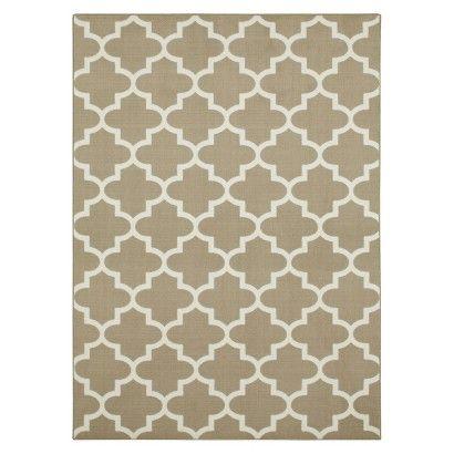threshold fretwork area rug gray 7 39 x10 39
