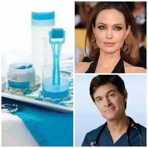 Angelina Jolie uses the Rodan+Fields Redefine AMP MD Roller?! Dr. Oz ...