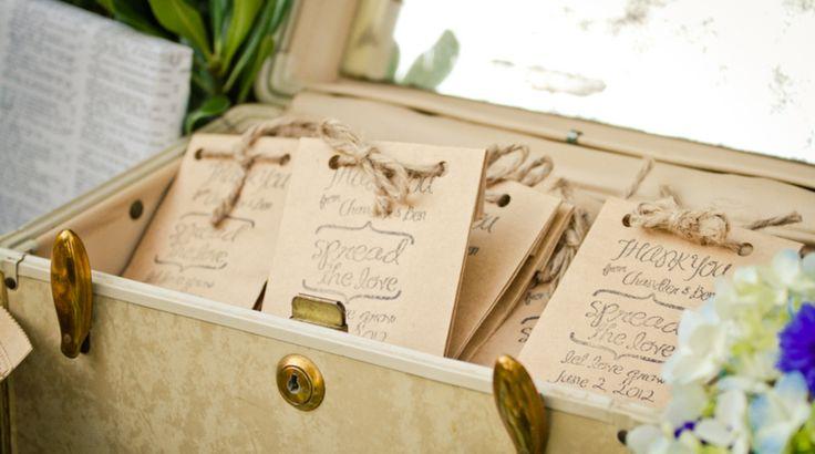 Wedding Favor Ideas- seeds