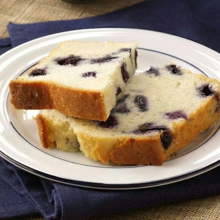 Lemon blueberry tea cake | Quick bread | Pinterest