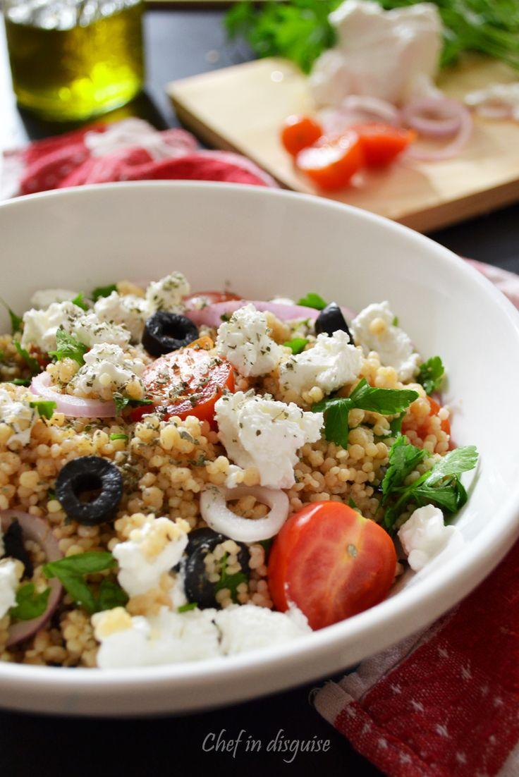 Mediterranean couscous salad | Salads | Pinterest