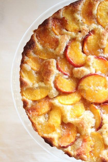 Nectarine Frangipane Tart r | Food | Pinterest
