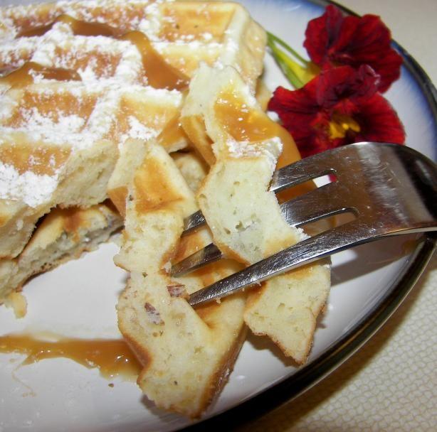 Hazelnut Waffles Recipe - Food.com - 388949