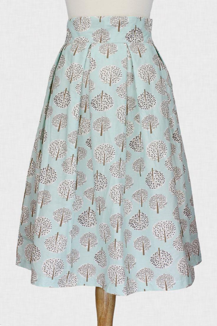 take a stroll a line skirt dress patterns