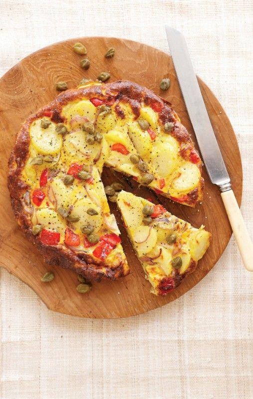 Veggie Spanish Frittata | Veggie and Edgy | Pinterest