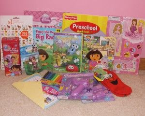 Kids' care package idea for a child having surgery.