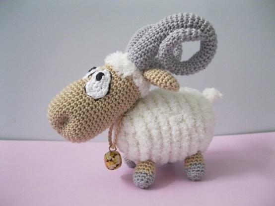 Amigurumi Crochet Lamb : Amigurumi Sheep Wooly & Felted Pinterest