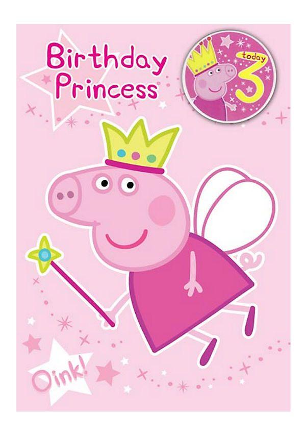 peppa pig 3rd birthday - peppa pig princess imagenes hd buscar con ...