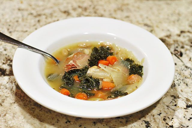 Tuscan Bean Soup | Soups and Sandwiches | Pinterest