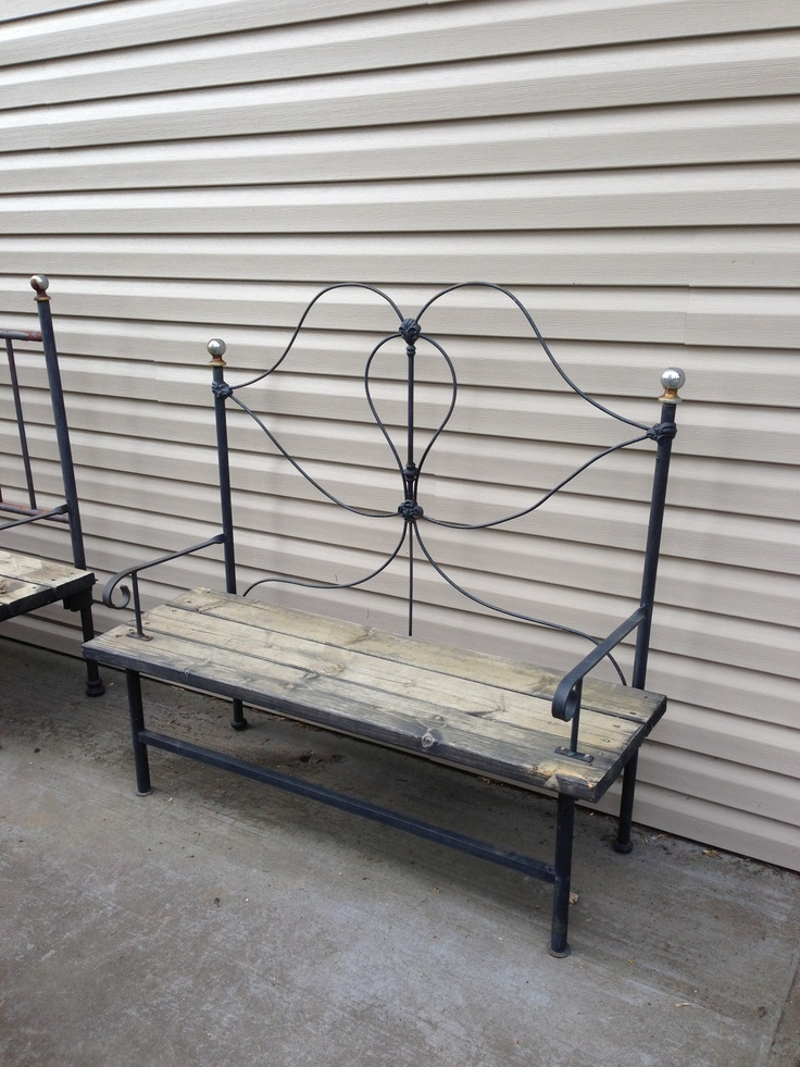 28 iron bed bench colors le barn antiques stamford ct