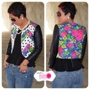 """Mimi G. Style: Leather Quilted Jacket   """"Fashion fades, Style is ..."""