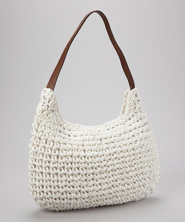 White Straw Shoulder Bag 81