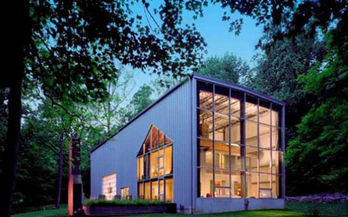 House in a House by Adam Kalkin | #OrganicSpaMagazine