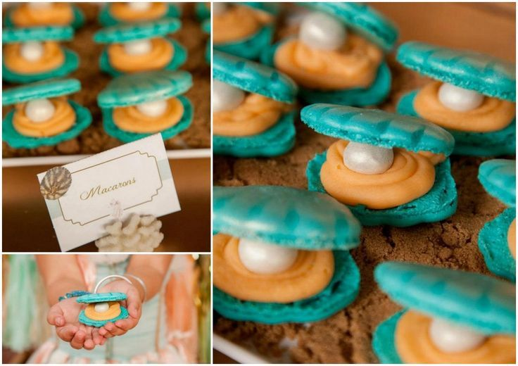Mermaid Party food. | { Party Planning } | Pinterest