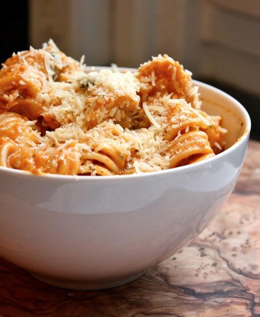 creamy roasted tomato basil pasta | Recipes | Pinterest