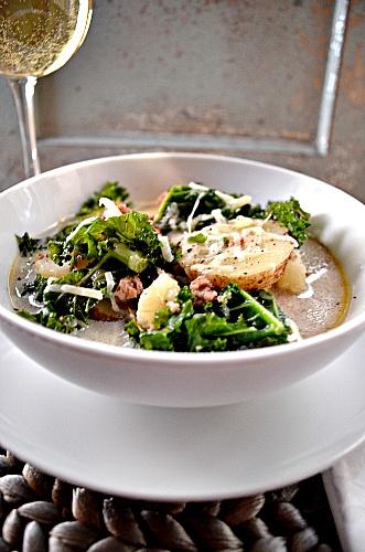 Sausage, Kale And Potato Soup | Tasty Kitchen: A Happy Recipe ...