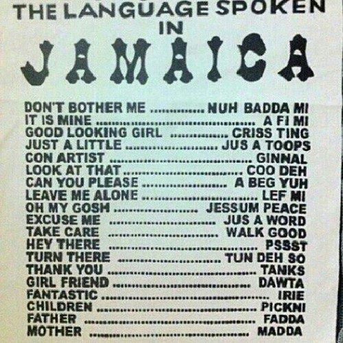 learn how to speak jamaican patwa