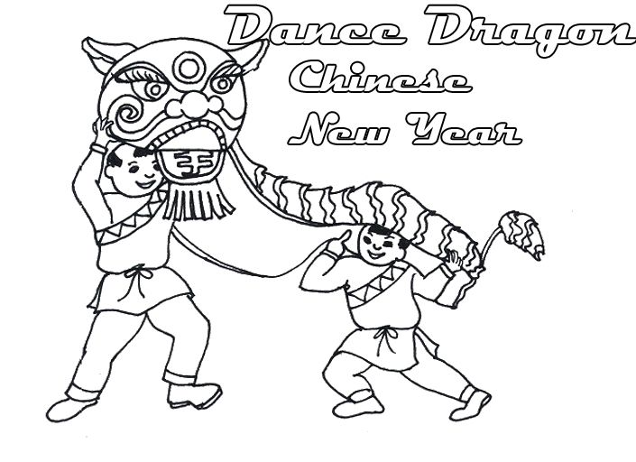 Chinese lion coloring page sketch coloring page for Chinese lion coloring page