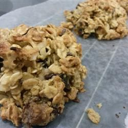 Oatmeal Chocolate Coconut Chewy Recipe — Dishmaps