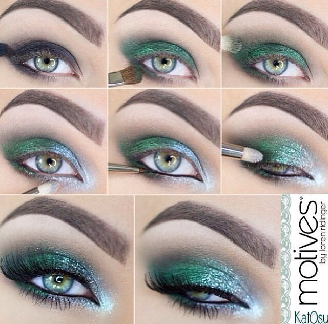 Verde + prata